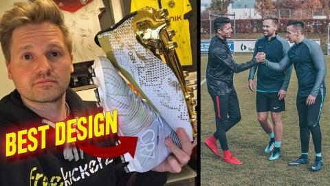 Best Football Boot Designs - Challenge vs Lewy & Aubameyang (German Livestream)