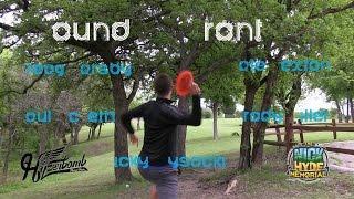 The Disc Golf Guy - Vlog #276 - McBeth Barsby Sexton Miller Wysocki - Rnd 3 Front 9 - Nick Hyde