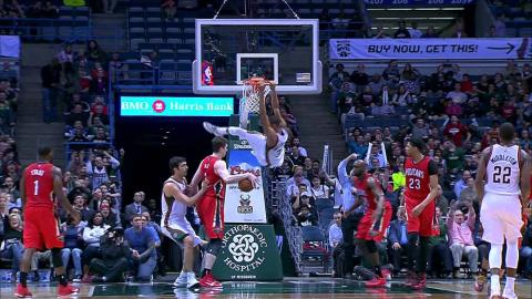 Milwaukee Bucks Top 10 Plays of the 2014-15 Season