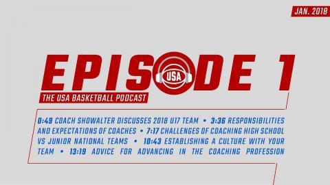 USA Basketball Podcast - January 2018