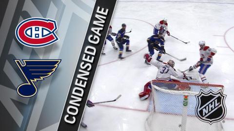 01/30/18 Condensed Game: Canadiens @ Blues