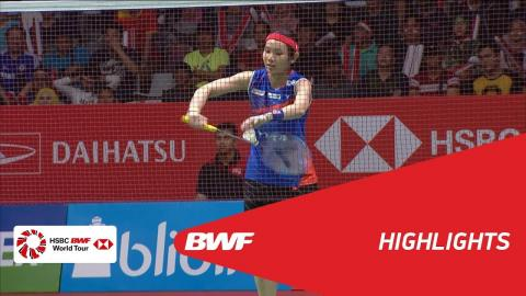 DAIHATSU Indonesia Masters 2018 | Badminton WS - F - Highlights  | BWF 2018