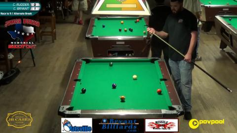 #9 - Chase RUDDER vs Charlie 'Hillybilly' BRYANT - Norris 9-Ball • 2017