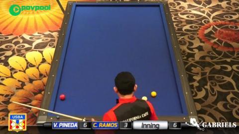 11 • Vicke PINEDA vs Carlos RAMOS • 2017 USBA / Gabriel's 3C Open