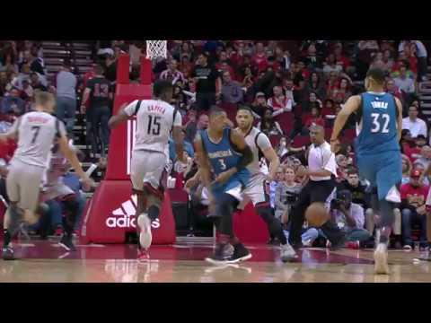 Kris Dunn With The Slick Pass Between His OWN Legs! | 02.25.17
