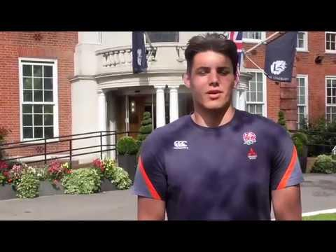 Player Diary, England U18s in South Africa