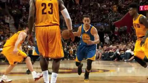 NBA Finals Phantom Raw: Curry's Finger Roll from All Angles