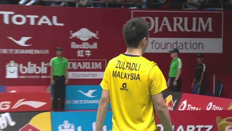 TOTAL BWF World Championships 2015 | Badminton Day 1 R64 M7-MS | Cho vs Zul