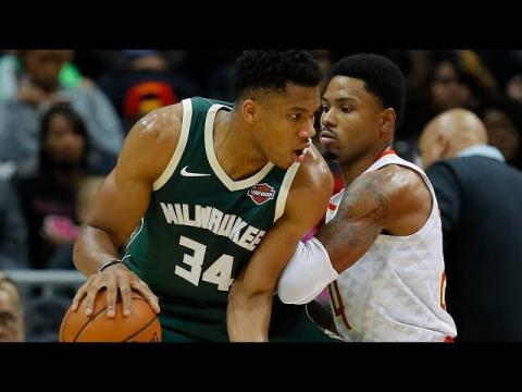 Giannis Antetokounmpo CRAZY Performance Against the Atlanta Hawks (33 pts, 11, rebs,  5 ast)