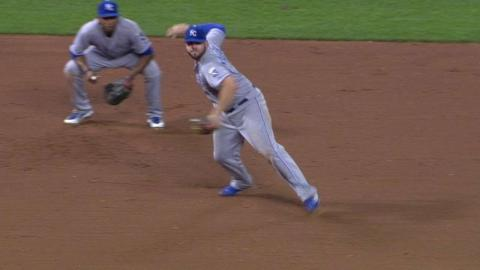 KC@CIN: Volquez retires Byrd to end the threat