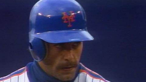 1988 NLCS Gm3: Backman ties game with RBI double