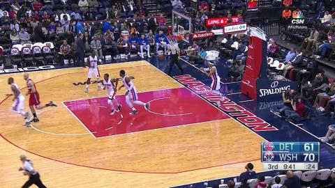 John Wall Drops 29 Points and 11 Assists to lead Wizards past Pistons | 12.16.16