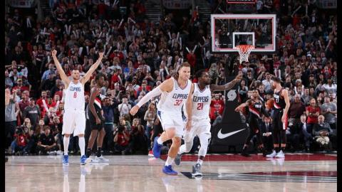Blake Griffin's Best Plays vs. Blazers Including Game-Winner l October 26, 2017