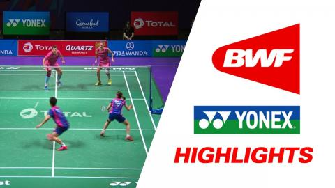 TOTAL BWF Sudirman Cup 2017 | Badminton Day 1 Grp 1B-KOR vs RUS – Highlights