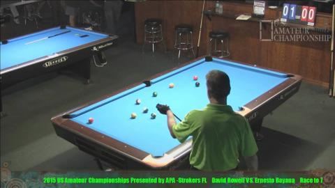 2015 US Amateur Championship Ernesto Bayaua VS Davis Rowell