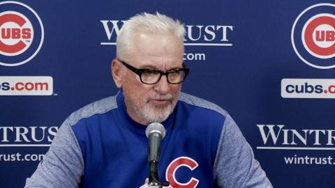 MIL@CHC: Maddon talks offensive outburst in win