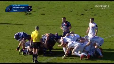 European Rugby Champions Cup 2016/2017: R4 - Bordeaux vs Exeter 17.12.2016