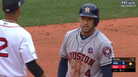 HOU@BOS Gm4: Springer collects three hits, RBI in win