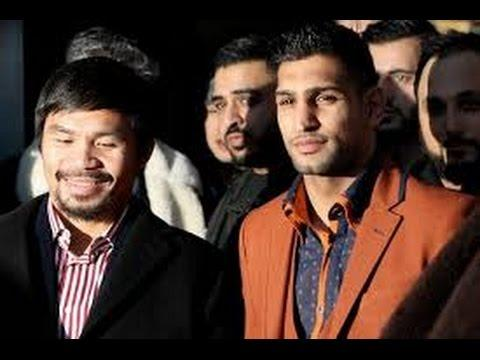 Manny Pacquiao vs Amir Khan In Talks To Fight In Dubai Early 2015 !! Perfect Comeback Fight !!