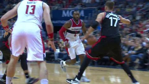 John Wall Puts Up 33 Points and Dishes 11 Assists