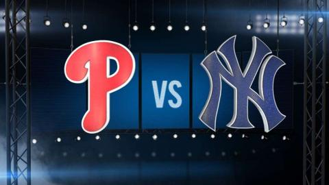 6/22/15: Phillies break out in win over Yankees