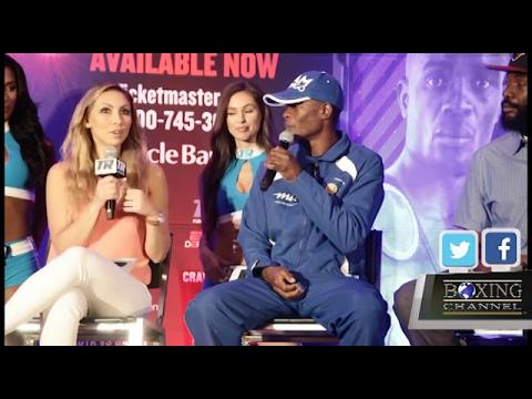 Crawford vs Indongo press Conference Highlights