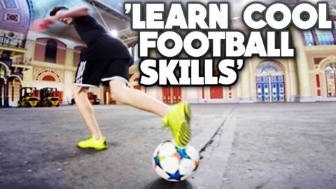 Learn 3 AWESOME Football Skills - Freestyle Football/Soccer Tricks Tutorial #AD| Footballskills98