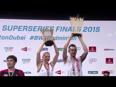 Dubai World Superseries Finals 2015 | Badminton Tournament Highlights