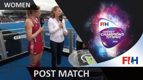 Kate Richardson-Walsh talks through GB's defeat to the Netherlands #HCT2016