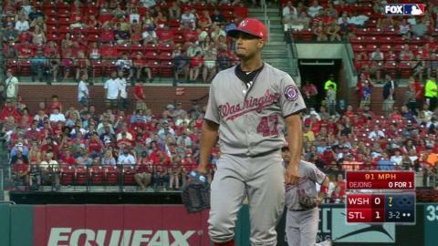 WSH@STL: Gonzalez strikes out DeJong to end the 7th