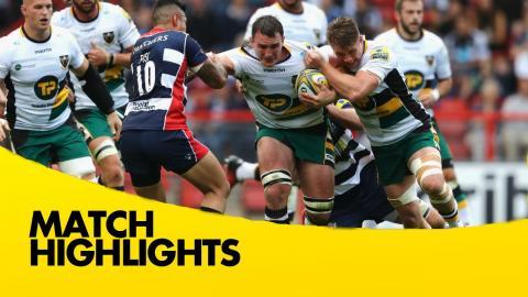 Bristol Rugby v Northampton Saints - Aviva Premiership Rugby 2016-17