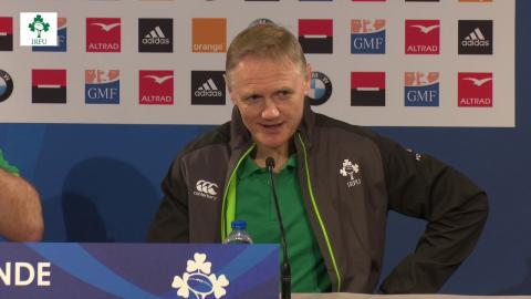 Irish Rugby TV: Ireland Post Match Conference