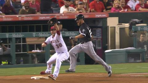 CWS@LAA: Angels end game with close double play