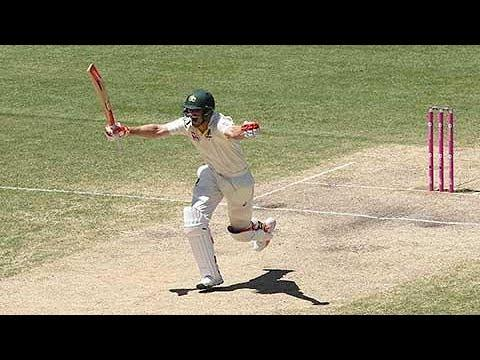 Mitchell Marsh scores his second Ashes century