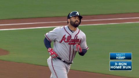 ATL@SF: Kemp crushes a three-run jack to center