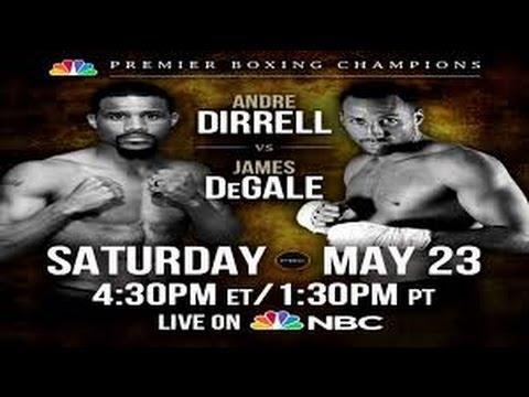 Andre Dirrell vs James Degale Vacant IBF Championship Fight PBC NBC Super Middleweight Prediction