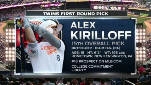 MIA@MIN: Kirilloff talks about joining the Twins