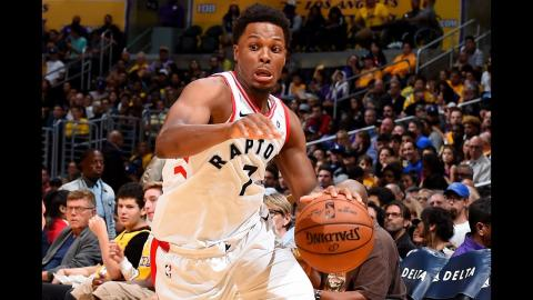 Kyle Lowry Notches a Triple-Double in Victory Over Lakers | October 27, 2017