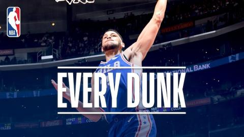 Ben Simmons, Doug McDermott, Kelly Oubre Jr. and Every Dunk From Monday Night | Nov. 13, 2017
