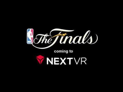 NBA Finals 2017 in NextVR
