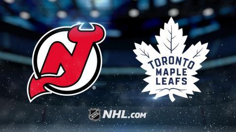 Andersen, Nylander lead Maple Leafs to 1-0 OT victory