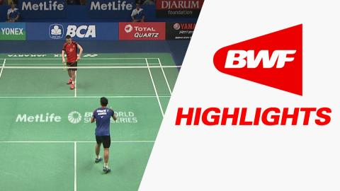 BCA Indonesia Open 2016 | Badminton R16 – Highlights