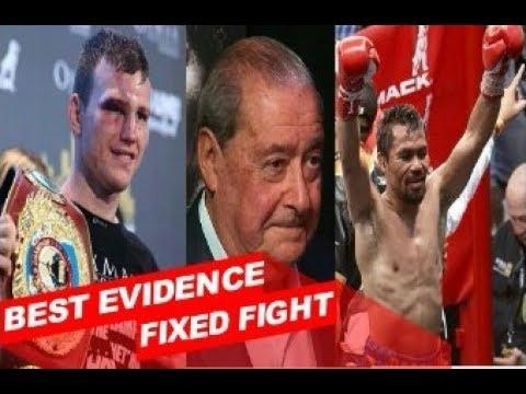 Truth : Manny Pacquiao Set Up By Bob Arum In Jeff Horn Robbery ? Fixed Fight ? WBO Corruption ?