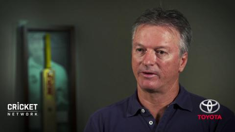 Classic Ashes flashback, with Steve Waugh