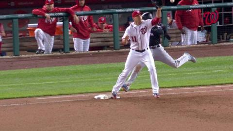 MIA@WSH: Murphy nets DP, call confirmed in the 9th