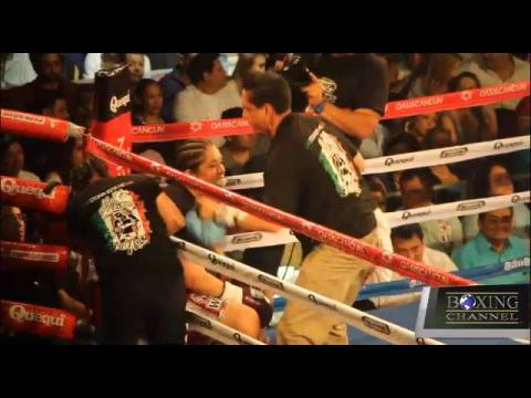 Fight salazar vs Jimenez sd