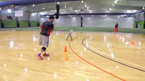 How To Split The Pick And Roll - Basketball Drills!