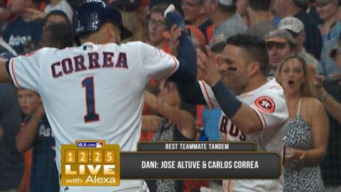 12:25 Live with Alexa on baseball's best dynamic duos