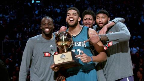 Karl-Anthony Towns Is The NBA's 2015-2016 Rookie of the Year