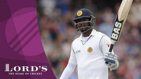 Angelo Mathews discusses his Lord's century | Lord's Rewind